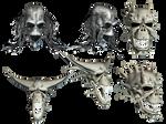 Fantasy Skulls 3 by Roy3D