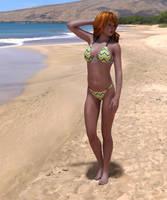Beach Babe by Roy3D