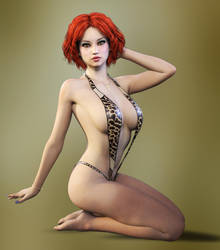 Pinup Fantasy by Roy3D