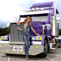 Keep On Truckin' by Roy3D