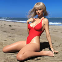 Oh I Do Like To Be Beside The Seaside by Roy3D