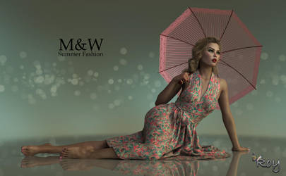 Summer Fashion by Roy3D