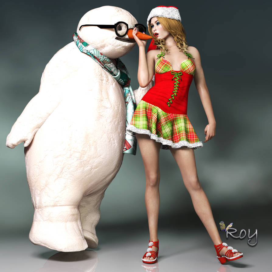 The Unlucky Snowman by Roy3D