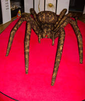 Stuffed spider by Smauch