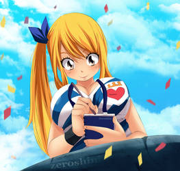 Lucy Magical Games by Zeroshini
