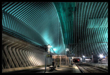 Guillemins I by kromo