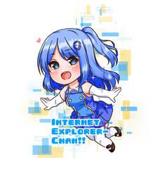 Internet Explorer-chan by Sakurakyun