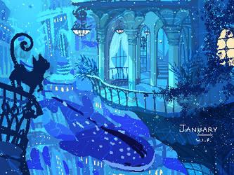 (WIP)Lukewarm Winter Morning by Faesu