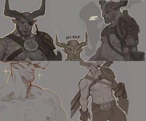 ride the bull by Toilet-Llama