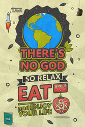 There's no god poster by nickmoz