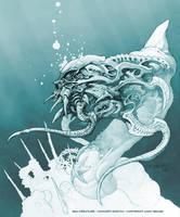 Sea Creature Sketch by andybrase