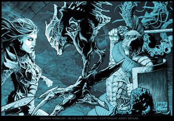 Demon Ambush by andybrase