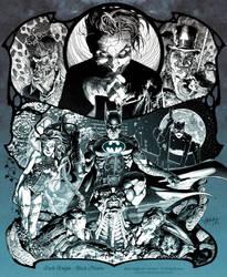 Dark Knight: Black Hearts by andybrase