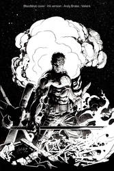 Bloodshot cover- Ink by andybrase