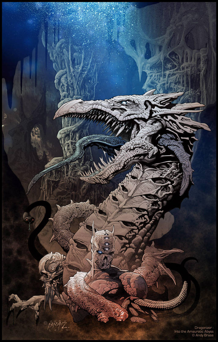 Dragonizor: Into the Amaurotic Abyss by andybrase