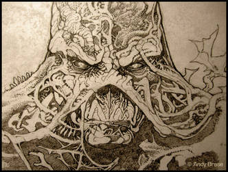 Swamp Thing : Concept art by andybrase