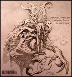 Creature Concept: Noctiluca (Pencil) by andybrase