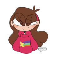 Mabel Pines by EvelynDrawz