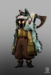Character Design - Viking Robots by Reysaurus