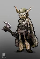 Character Design - Viking Robots 2 by Reysaurus