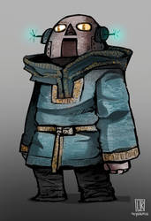 Character Design - Viking Robots 3 by Reysaurus