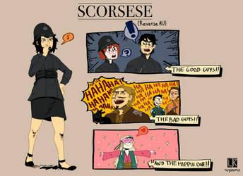 SCORSESE: REVERSE AU by Reysaurus