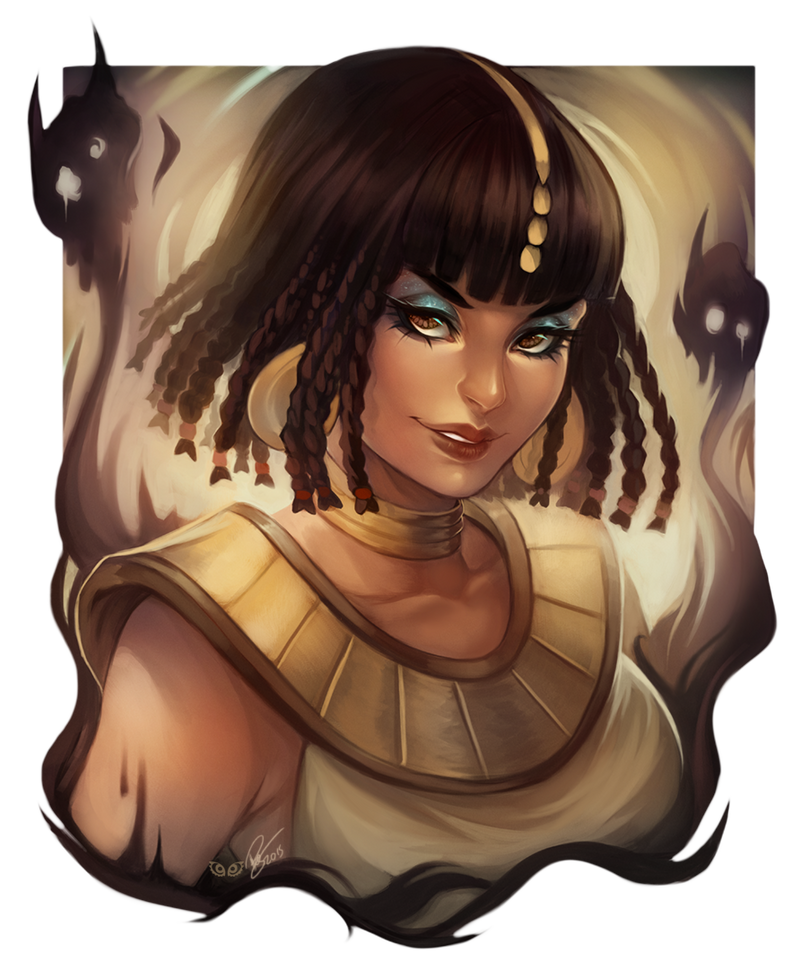 Ammit - Commission by clover-teapot