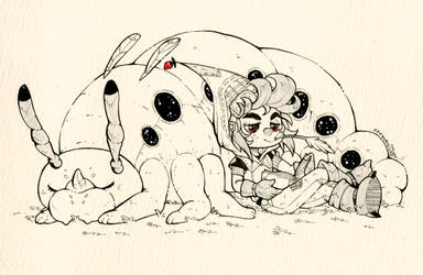 Inktober day 27 - Relax by clover-teapot