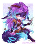 Shefa - Chibi Commission by clover-teapot