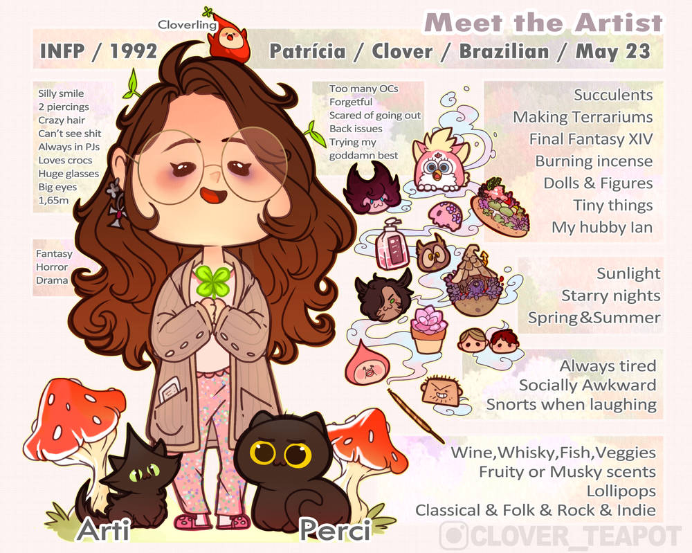 Meet The Artist 2019 by clover-teapot