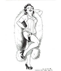 Miss Anne Thropy (inked version) by nautilebleu