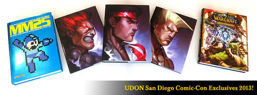 UDON San Diego Comic Con Exclusives! by StacyKing