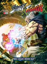 StreetFighter Free Comic Book Day Cover! by StacyKing
