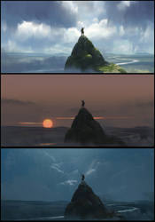Mountain Top Variations by florentlebrun