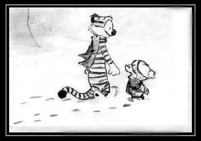 Calvin Hobbes by MrMellow