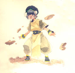 Toph by Dee-Baby