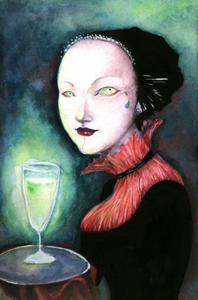 Opalina - Absinthe Mistress by neshad