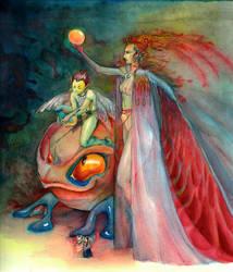 Tropical faery folk by neshad
