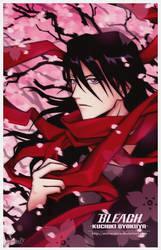 BLEACH: Kuchiki Byakuya by Arehandora