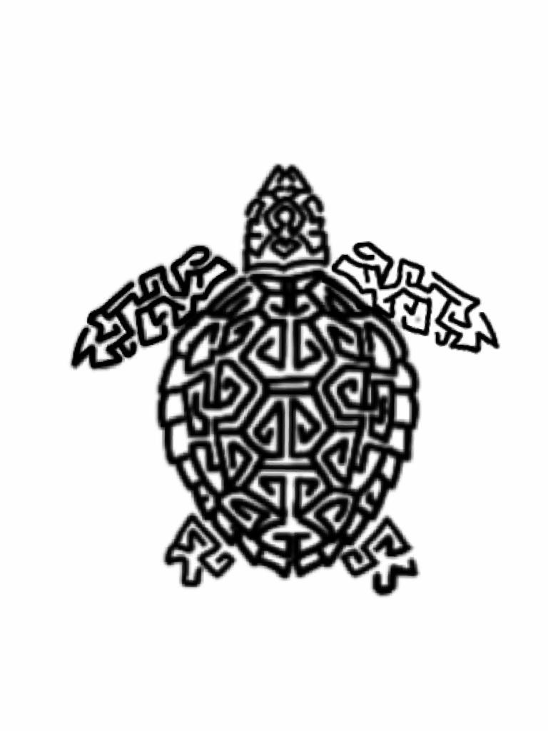 Tattoo Design Tribal Turtle By Cheese4u2me On Deviantart