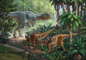Jurassic China by atrox1