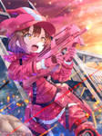 Sword Art Online Alternative GGO - LLENN by SYSEN