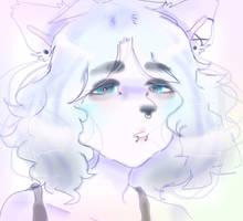 lalala i like your tired eyes by Adishu