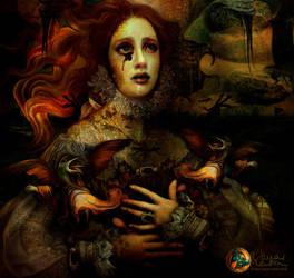 The Demon is hidden by MarCantonArt