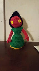Flatwoods Monster Amigurumi by StrangeComet