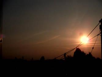 Urban Sunset by RandomLollipop27
