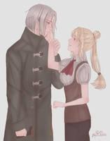 [C]Sayuki and Yomo by IzukiYia