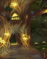 Tree House by GEIKOUart