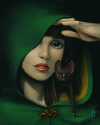 Green Shadow by GEIKOUart