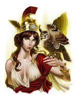 Athena's Resolve by GEIKOUart